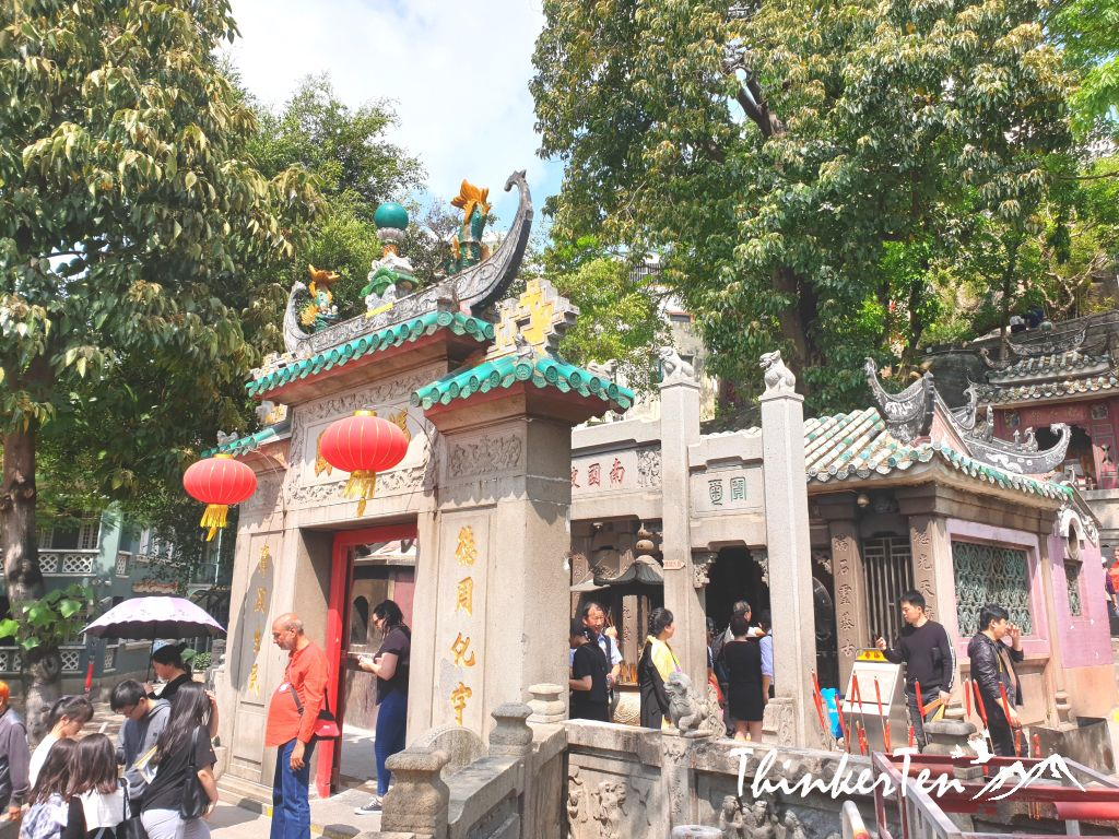 Macau Oldest A-Ma Temple & The Giant Bronze Guanyin Statue