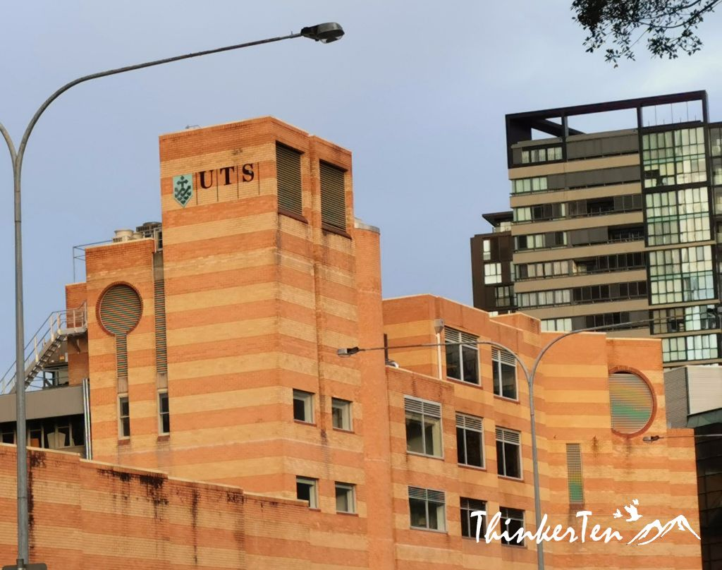 """The Brown Papaer Bag"" in Sydney UTS (University of Technology Sydney)"