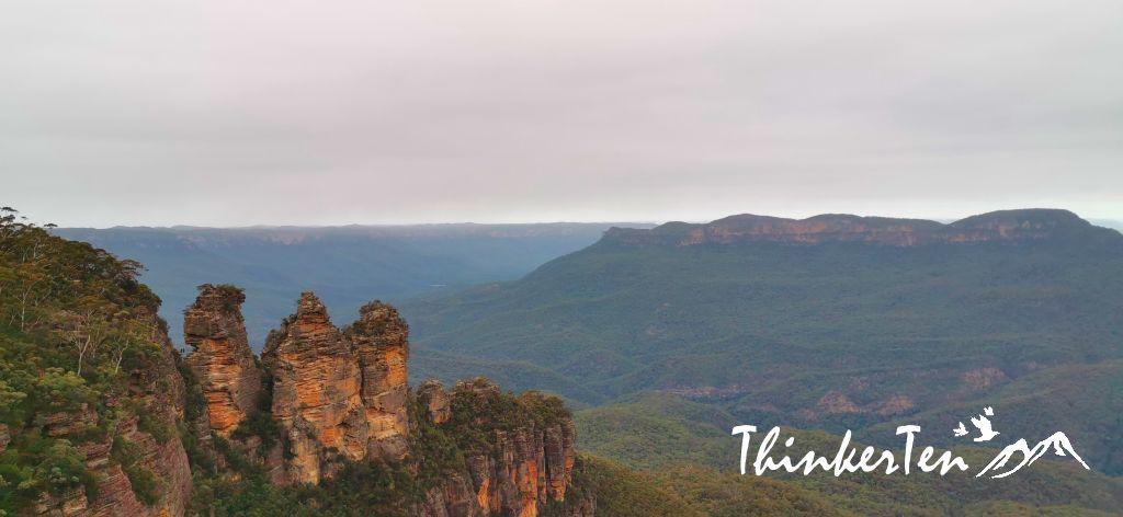 Blue Mountain,Echo Point, Three Sisters in Australia