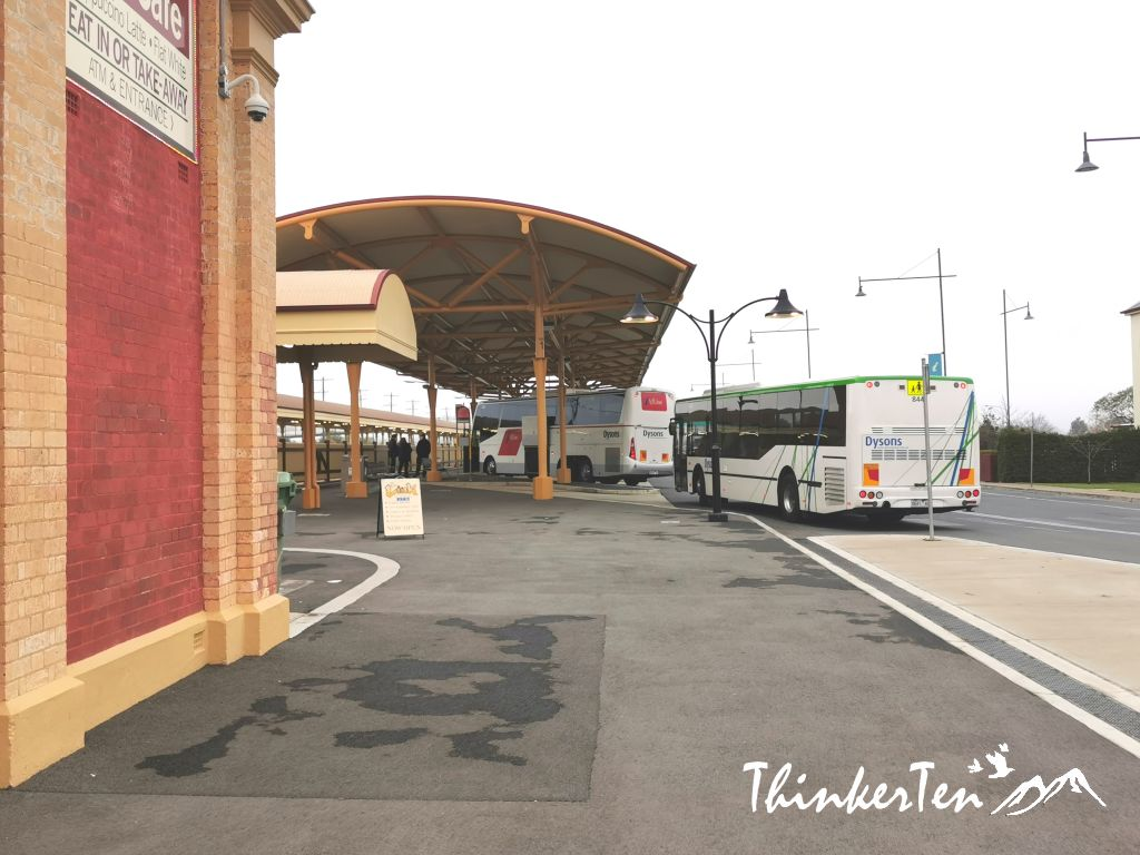 Longest train platform in Australia, the Albury Historical Train Station