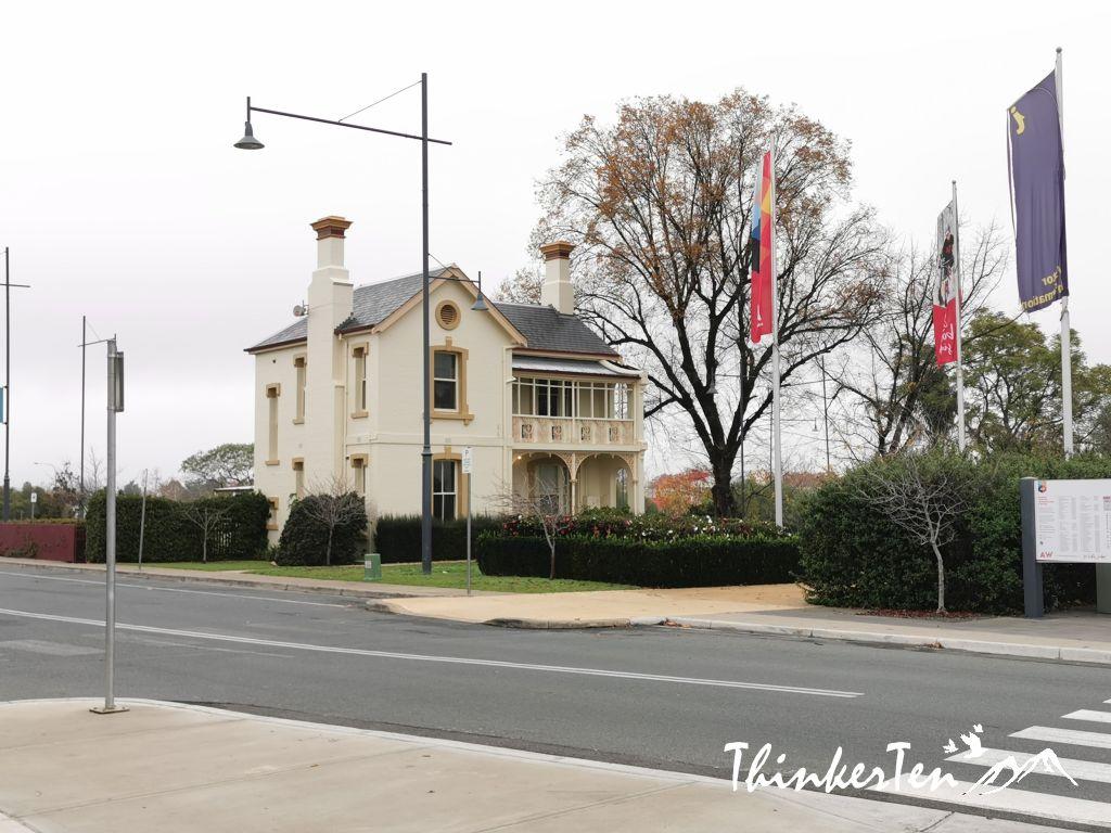 Longest train platform in Australia, the Albury Historical Train Station
