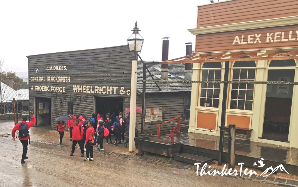Stepping Back in Time in Sovereign Hill, Melbourne Australia