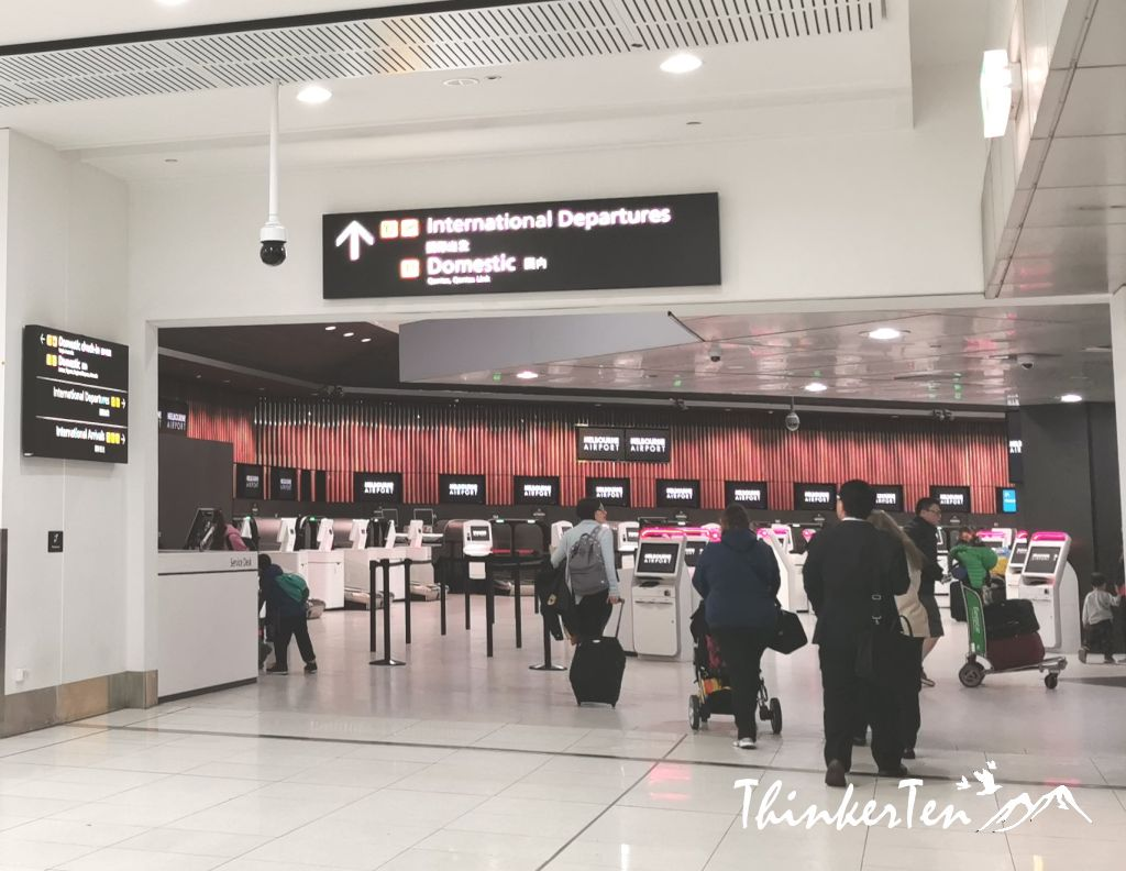 Melbourne Airport Review & Process of Dropping The Rental Car