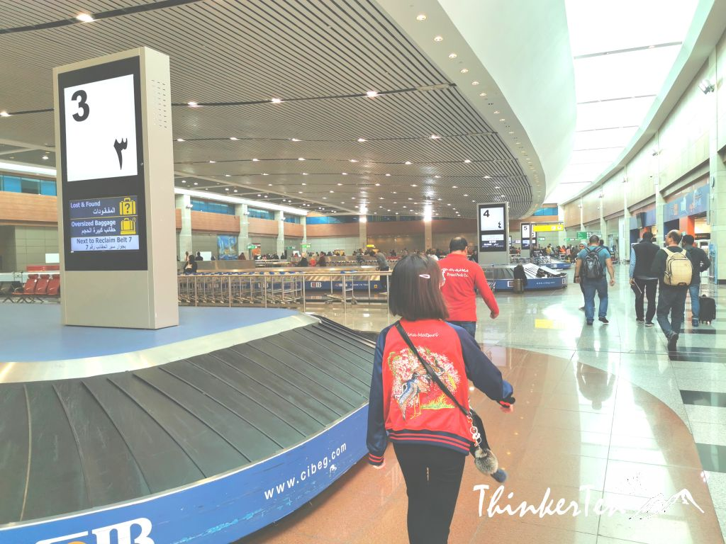 Cairo Airport Review - Visa on arrival and where to change you money