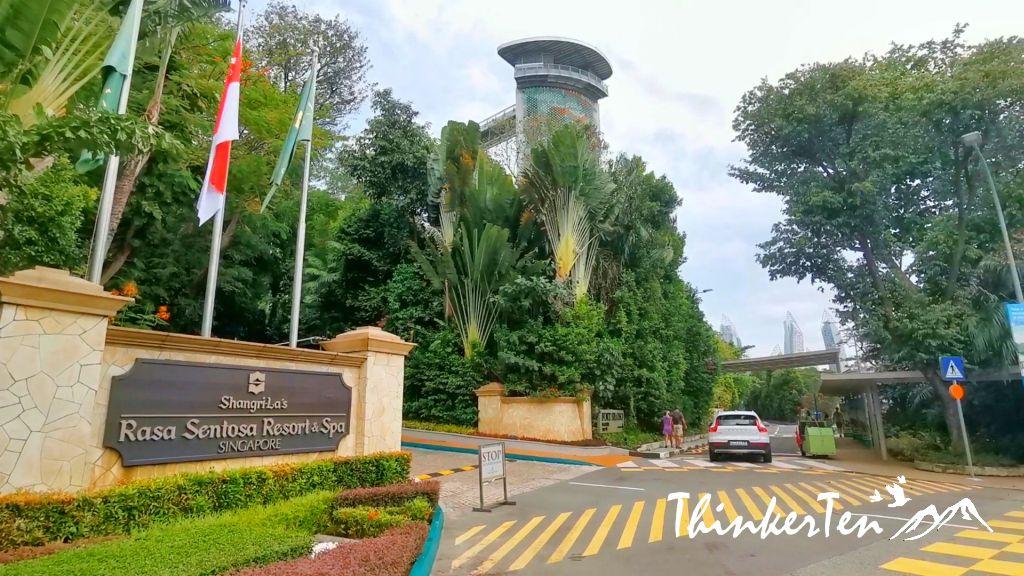 Singapore Sentosa Island during Covid 19