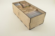 Sleeved Cards in Star Wars Imperial Assault Card Holder
