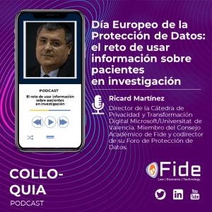 Día Europeo de la Protección de Datos - El Reto de usar información sobre pacientes en investigación