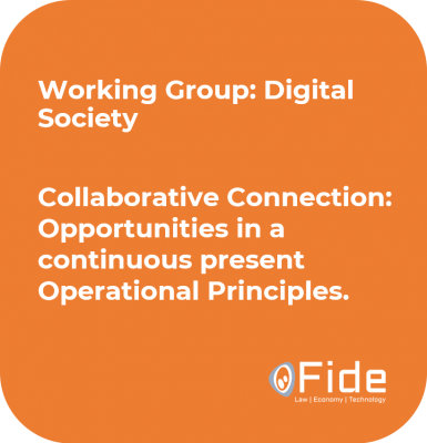 proposal WG digital society Collaborative Connection Opportunities in a continuos present