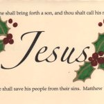 Call Him Jesus