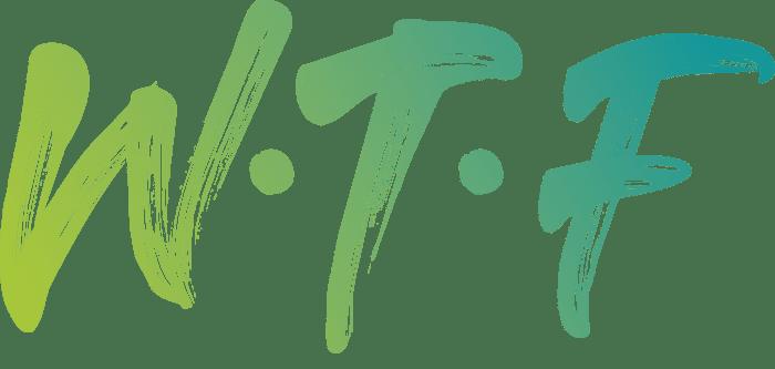 WTF Logo no BG
