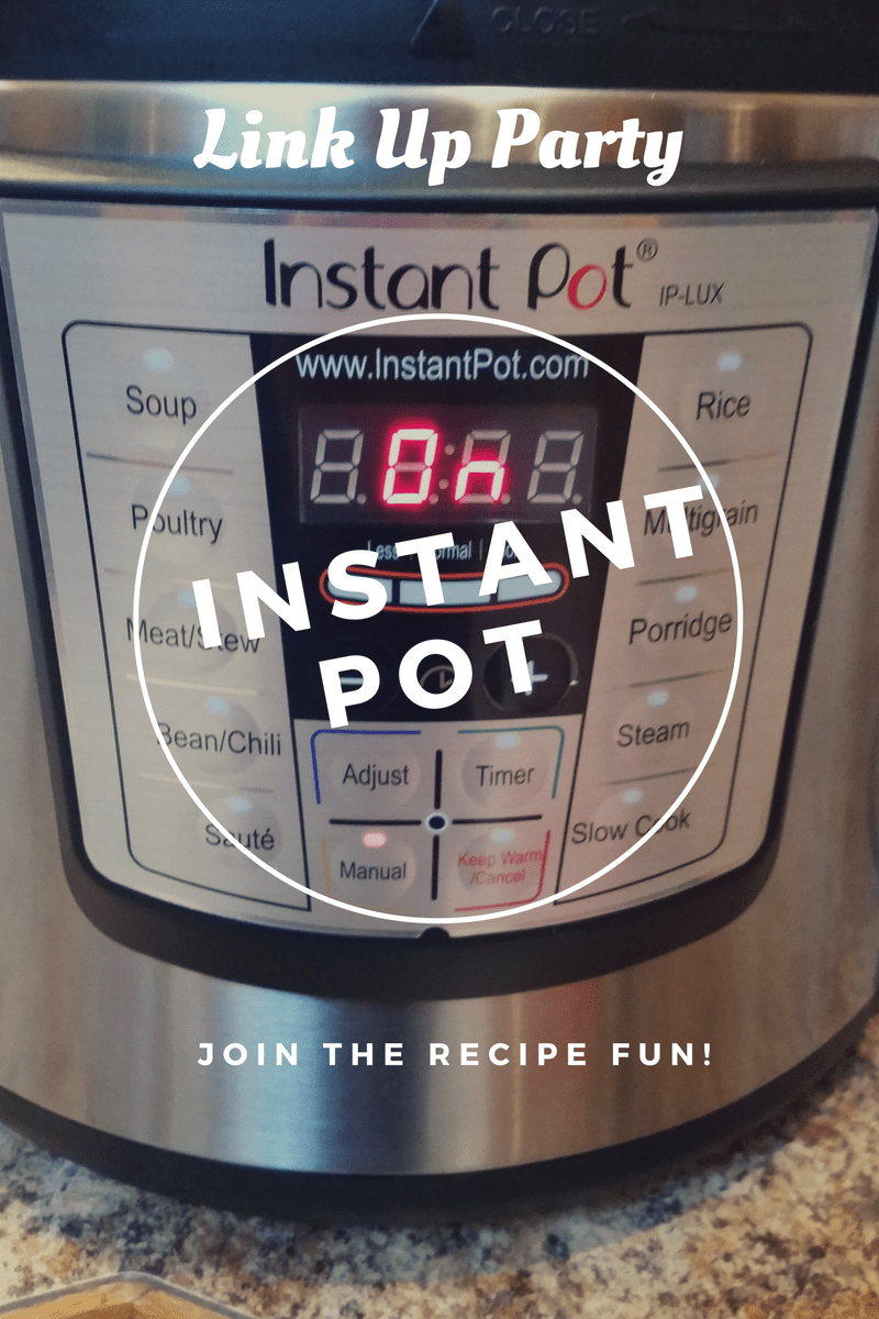 Instant Pot Link Up Party