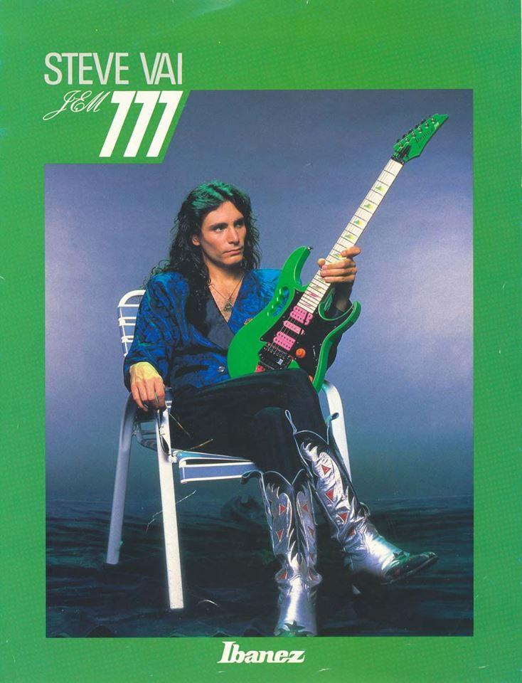 Steve Vai Presents The Ibanez Jem 777 In Forgotten