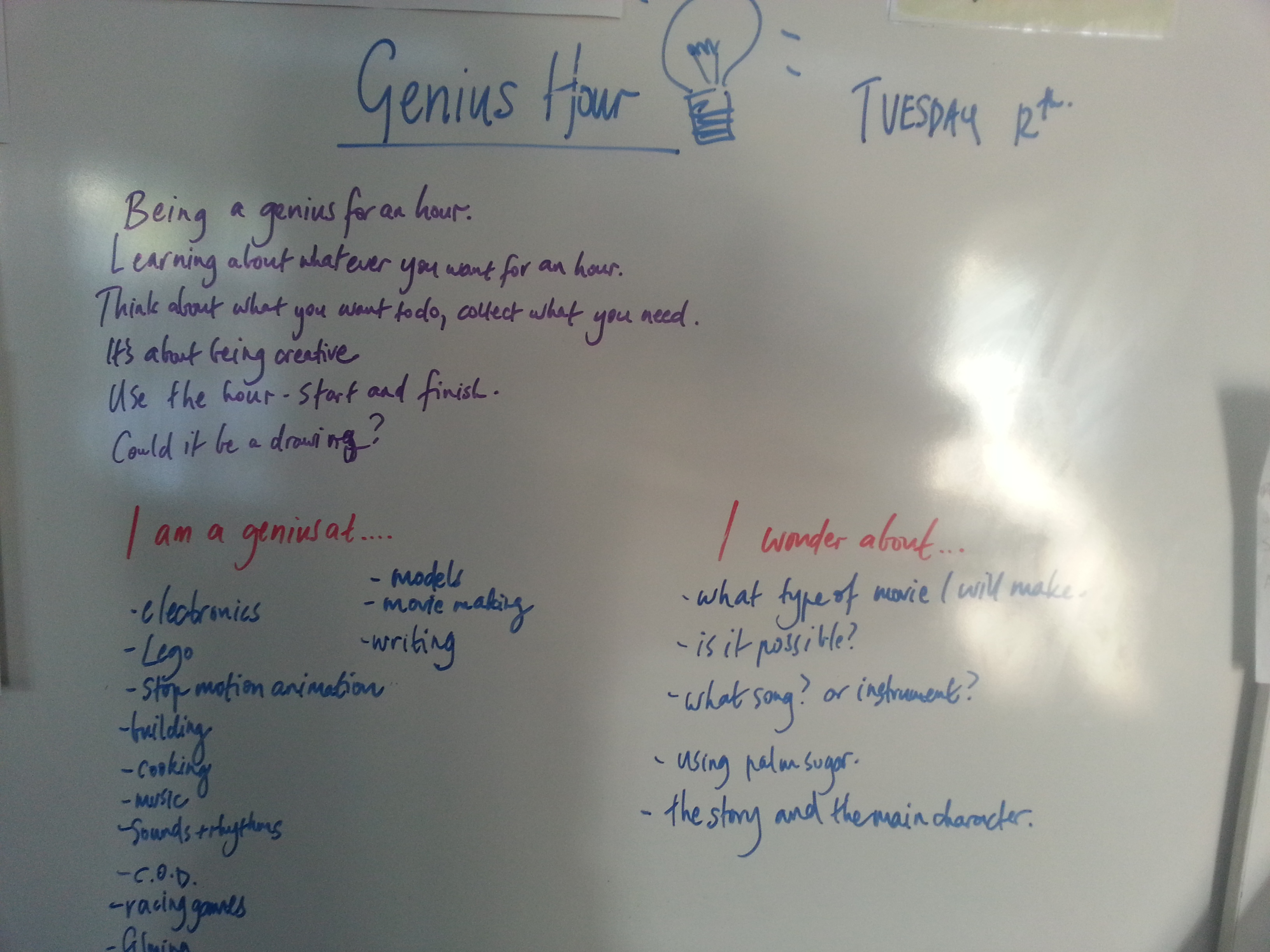 Is Genius Hour A Way To Get Into Rhizomatic Learning