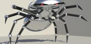 robo Cartoon Spider Rig