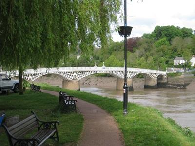 Wye Bridge copyright Charles Hawes
