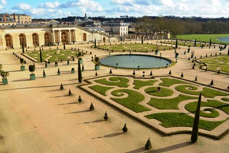 Orangerie at Versailles in winter Copyright Susan Cohan S