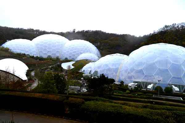 Eden Project Biodomes Copyright Noel Kingsbury DSC_0739
