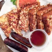 My favorite - almond crusted french toast from John G's