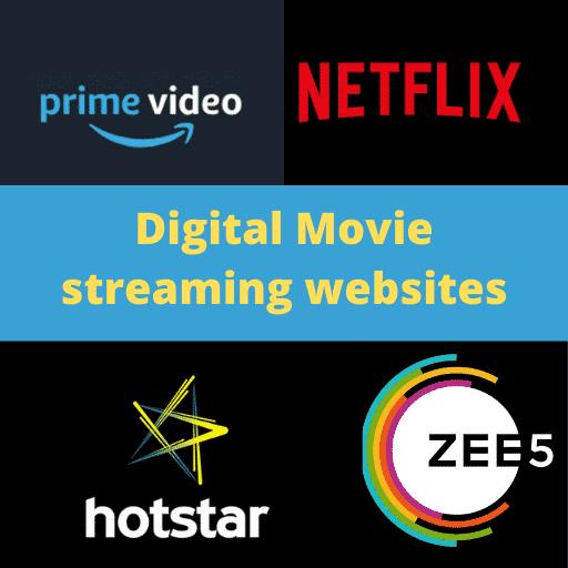 Movie digital release date