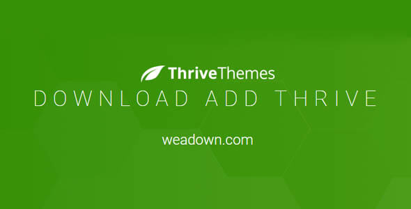 Download All Thrive Themes 2020 09 27 Nulled Free