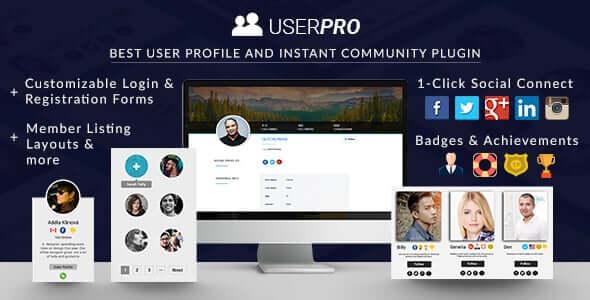UserPro 4938 Nulled Community and User Profile WordPress Plugin
