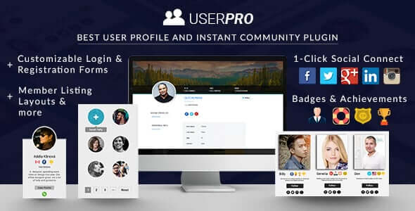 UserPro 4.9.38 Nulled - Community and User Profile WordPress Plugin