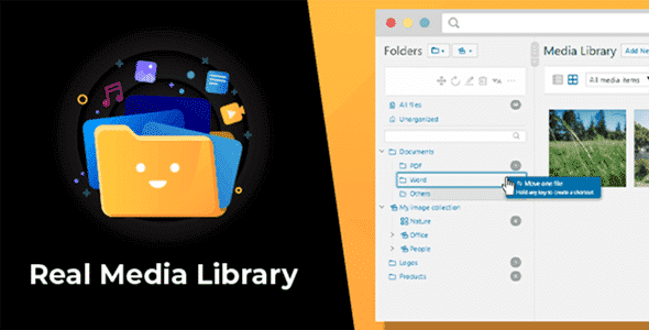 WordPress Real Media Library 4.9.6 Nulled - Folder & File Manager Plugin