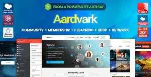 Aardvark 4.27.1 - Community, Membership, BuddyPress Theme