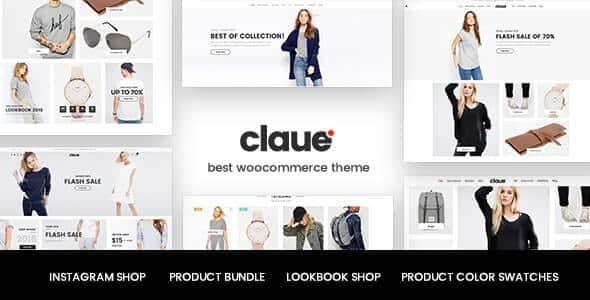 Claue 207 Clean Minimal Elementor WooCommerce Theme