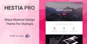 Hestia Pro 3.0.5 New - Multi-Purpose WordPress Theme