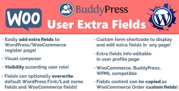 User Extra Fields 151 WordPress Plugin