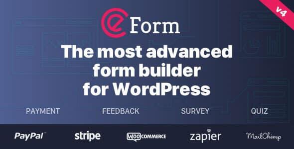 eForm 4142 Nulled WordPress Form Builder
