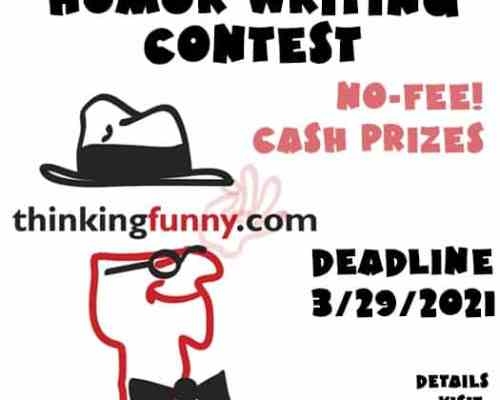 No Entry-Fee Humor Writing Contest