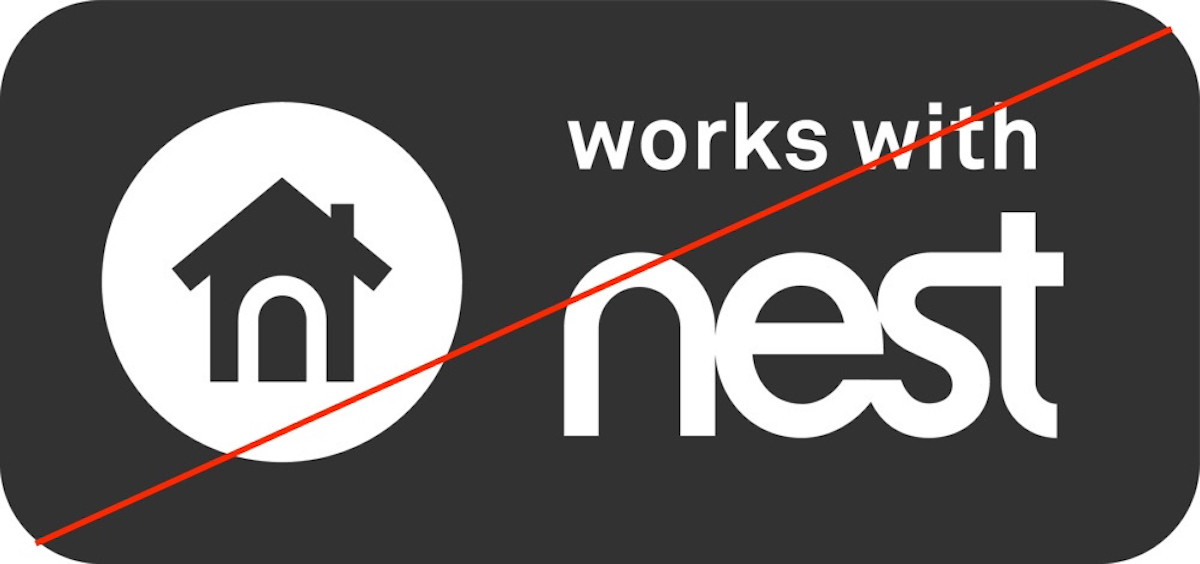 No more Works with Nest