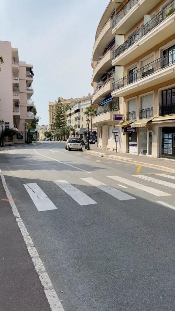 Deserted Streets of Beaulieu-sur-mer