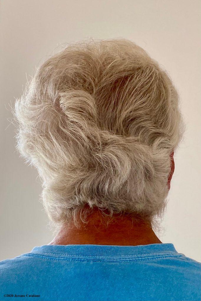 Pandemic hair - rear view