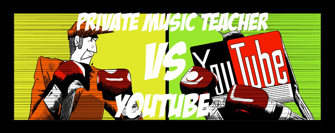 privatmusic teacher vs youtube