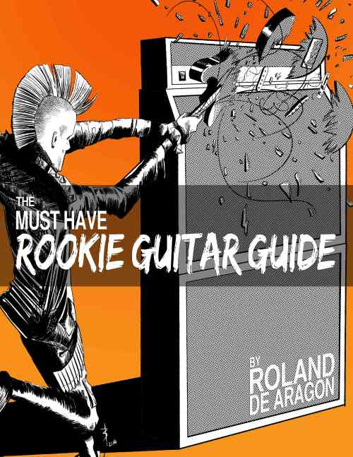 Rookie Guitar Guide book Cover