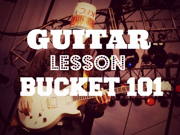 guitar lesson bucket 101