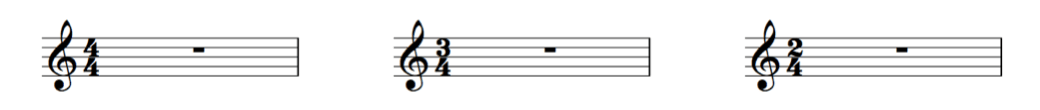 common time signatures