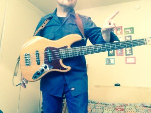 Bass Lesson 1 Poor Standing Position