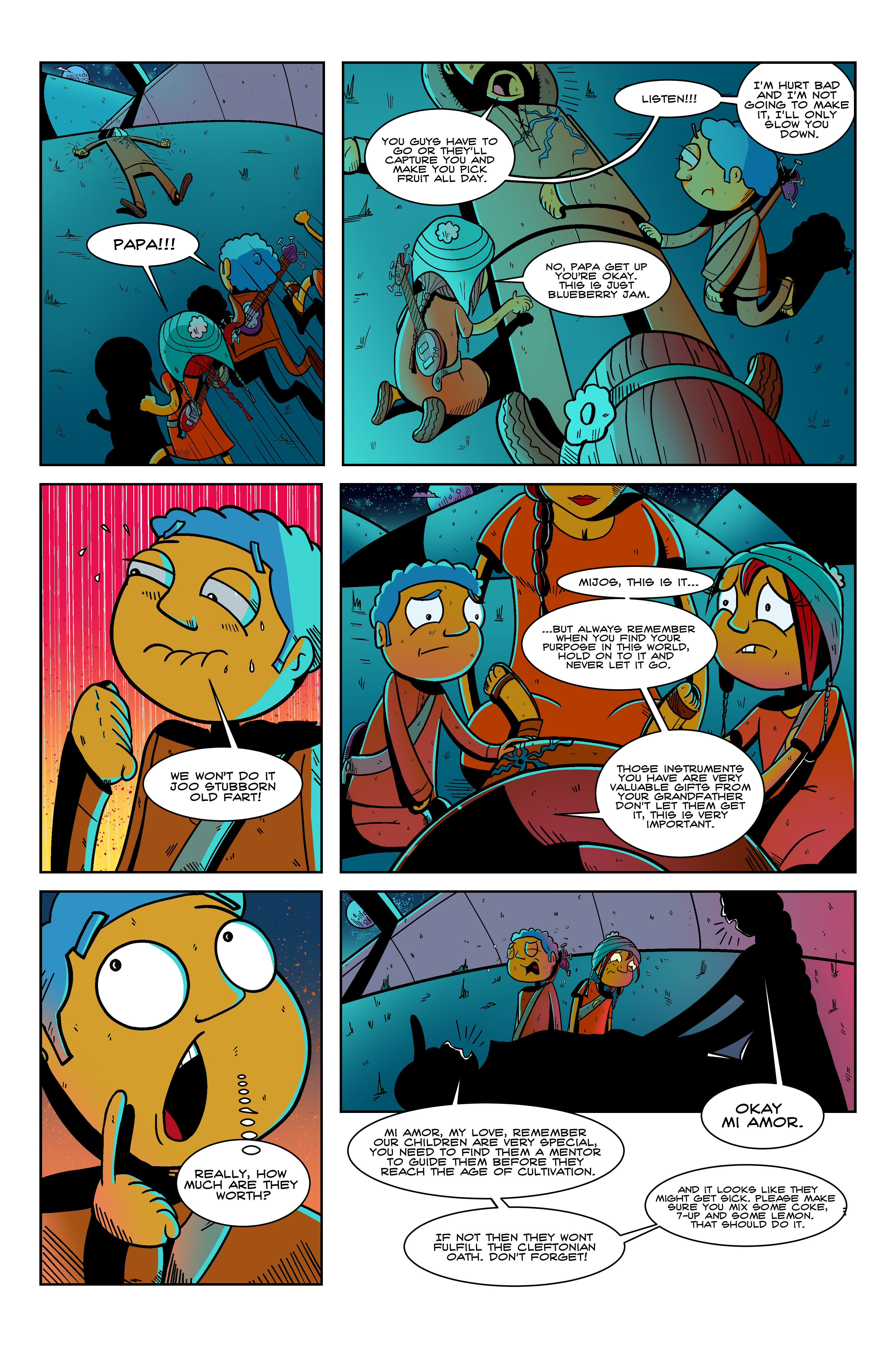Illegal Aliens Book 1 Final Page 4