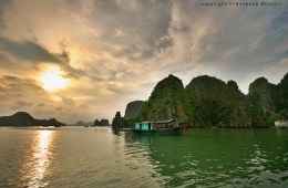Sailing in Hal Long Bay