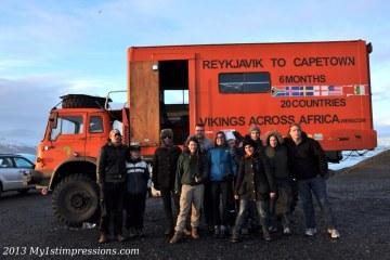 Vikings across Africa crew