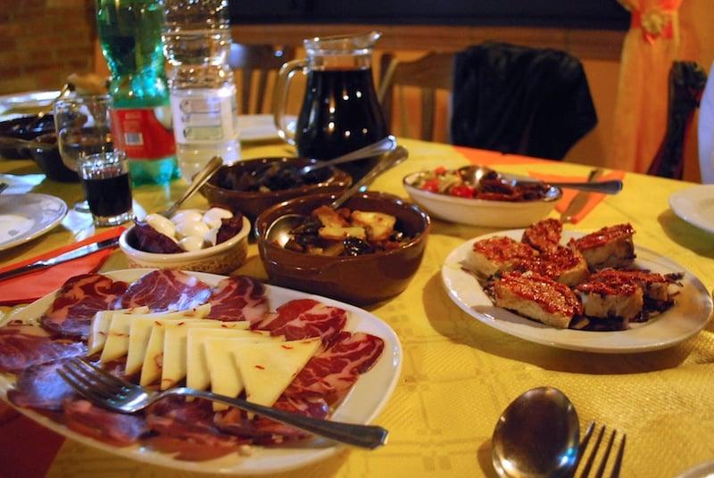 Aperitive - Italian food, Calabria
