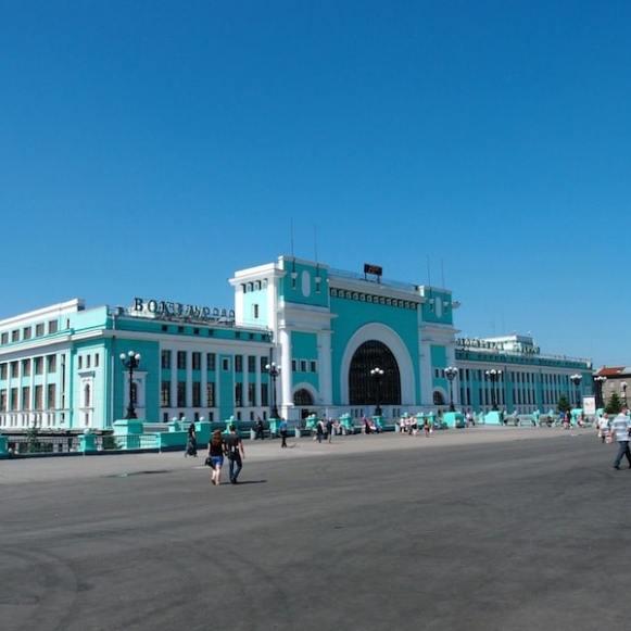 Novosibirsk - Trans-Siberian Railway