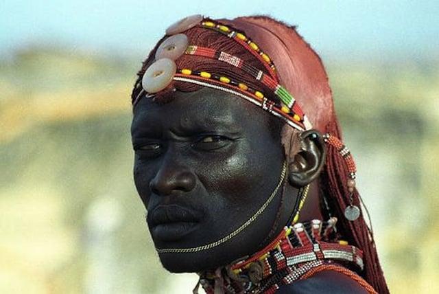 Samburu warrior - Kenya