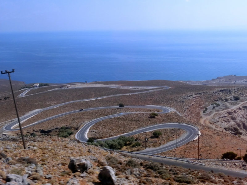 Road to Sfakia - Crete, Greece