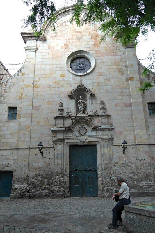 Plaça de Sant Felip Neri, Barcelona - Catalonia, Spain