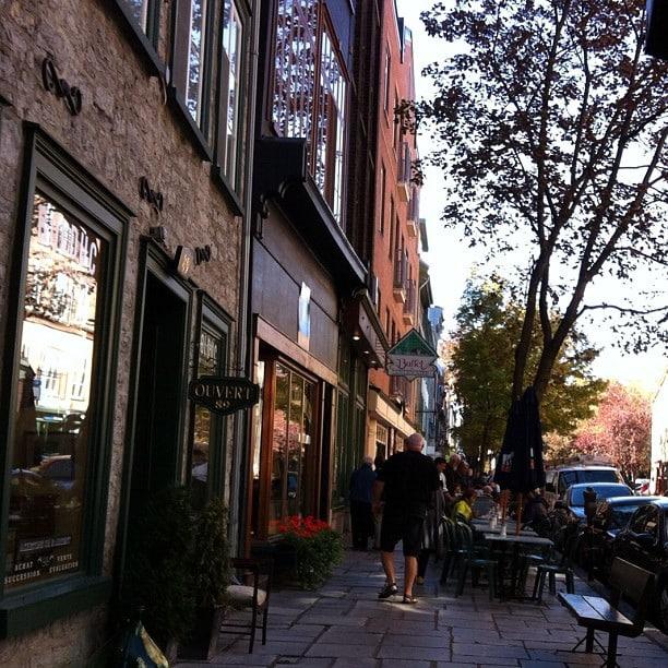 Rue Saint Paul - Quebec City, Canada
